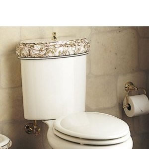Kohler Kohler K-14241 Briar Rose Tank, Lid, and Seat Toilet Parts