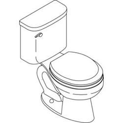 Kohler K-3557 Toilet Parts