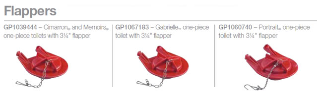 3 inch toilet flapper. Kohler Toilets that have a 3 inch flapper are Class Five  toilets All use fill valve GP1083167 KB Results